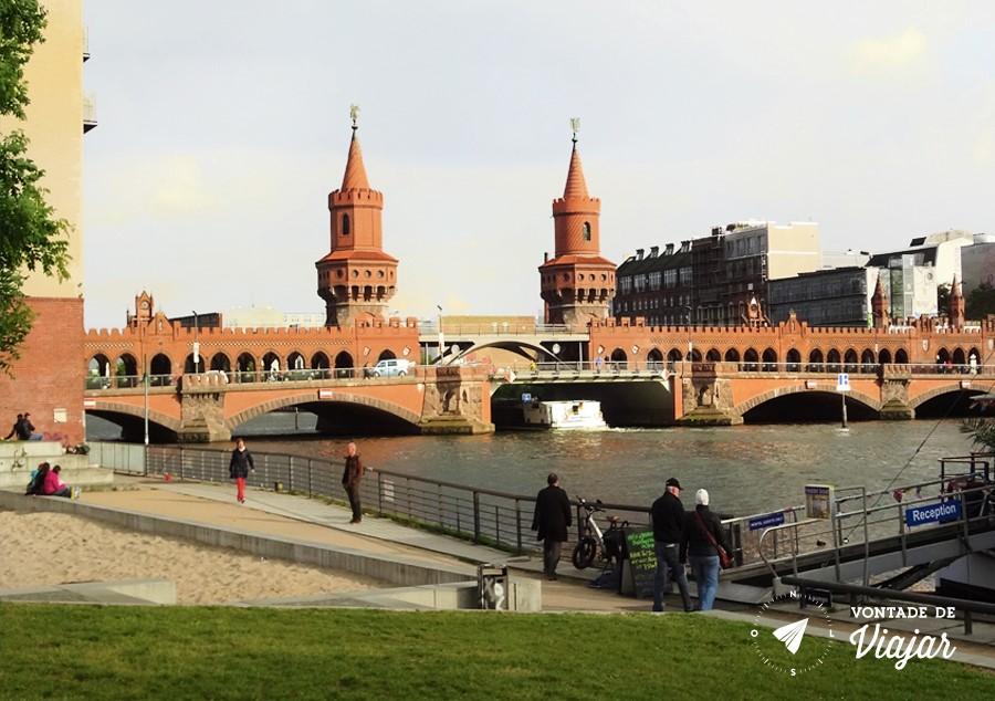 East Side Gallery - Como chegar no Muro de Berlim