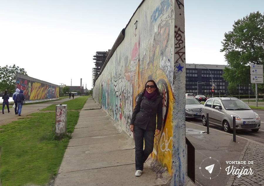 O outro lado do Muro de Berlim