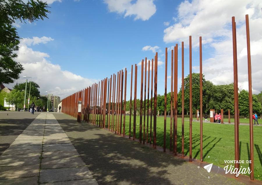 Muro de Berlim - Memorial na Bernauer Strasse