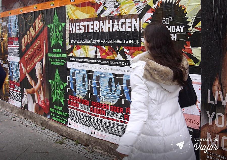 Muro de Berlim - posters em Berlim