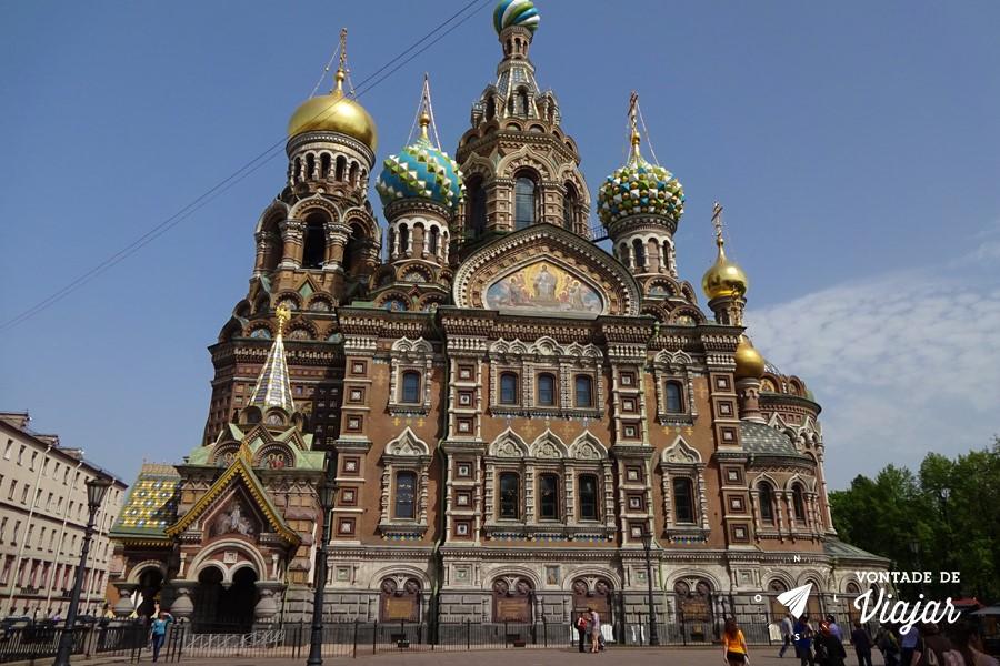 Sao Petersburgo - Catedral do Salvador sobre o Sangue Derramado