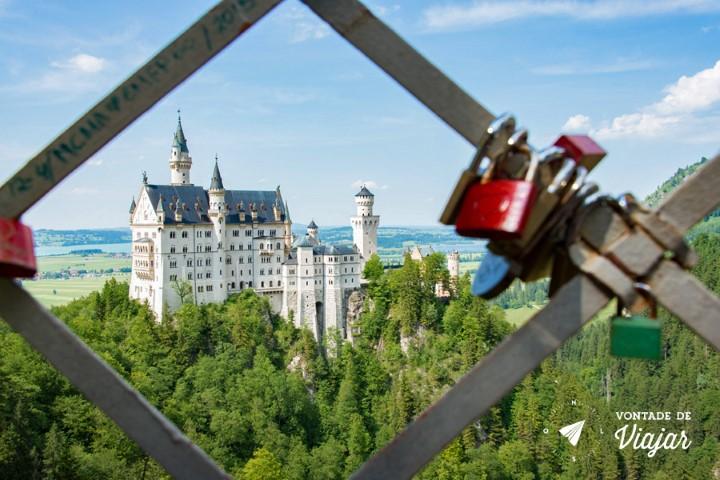Dicas de fotografia de viagem - angulos diferentes - Castelo de Neuschwanstein