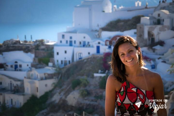 Dicas de fotografia de viagem - fundo desfocado - Santorini