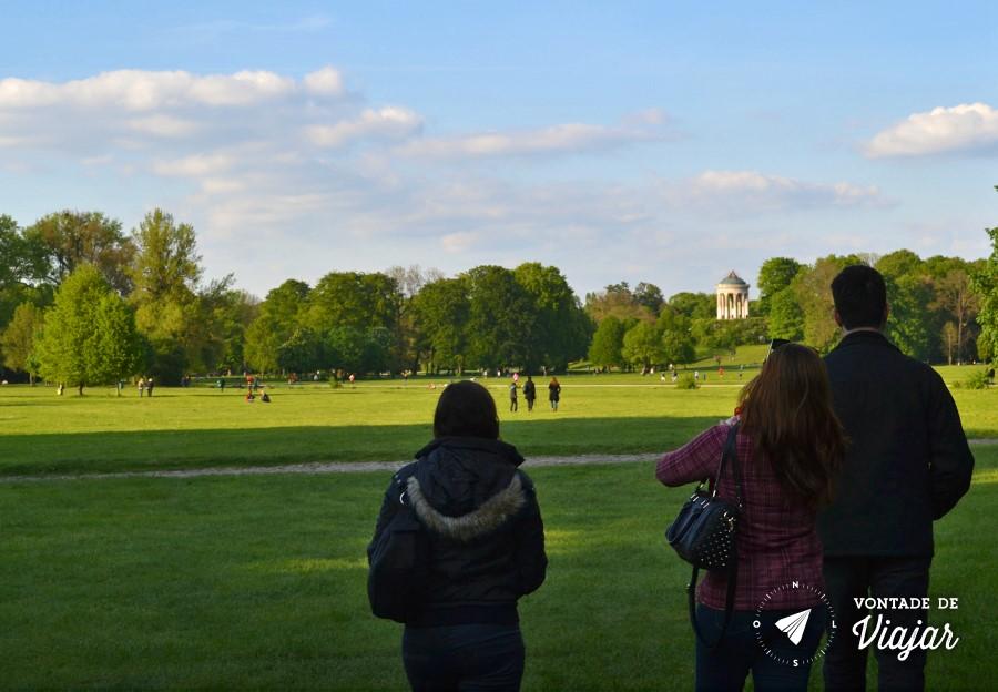 Munique - Englischer Garten