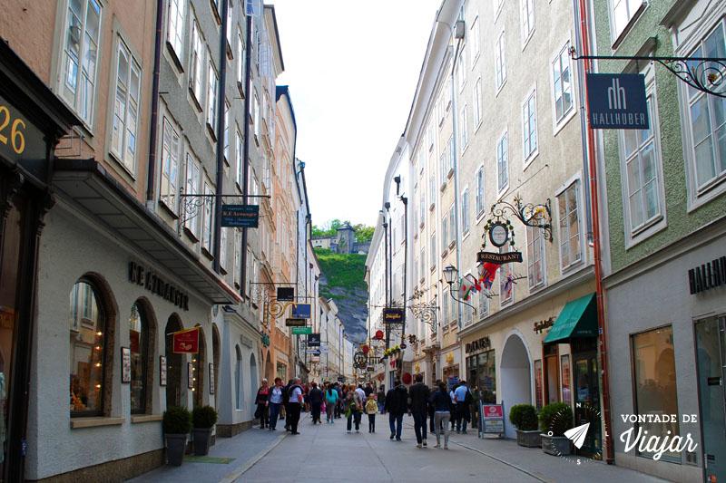O que fazer em Salzburg - Centro historico