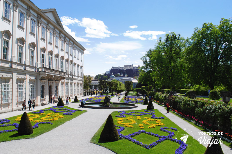 O que fazer em Salzburg - Palacio Mirabell