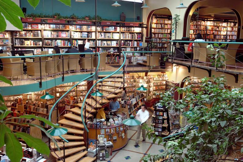 Livrarias mais bonitas do mundo - El Pendulo Mexico