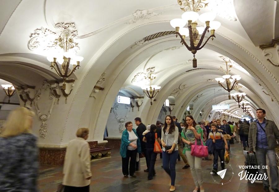 Arbatskaya e a arquitetura que ficou conhecida como Barroco Stalinista