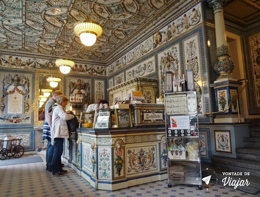 Molkerei Pfunds - interior da historica leiteria de Dresden