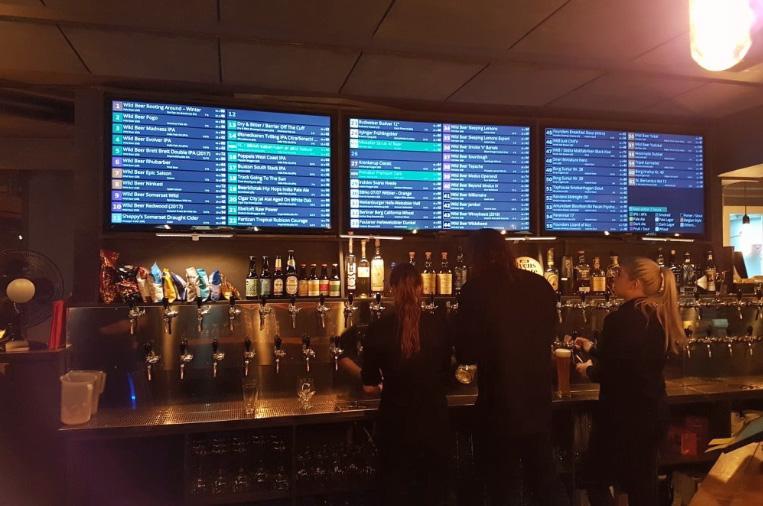 O que fazer em Copenhague - Bar Tap House - Foto Andrew S