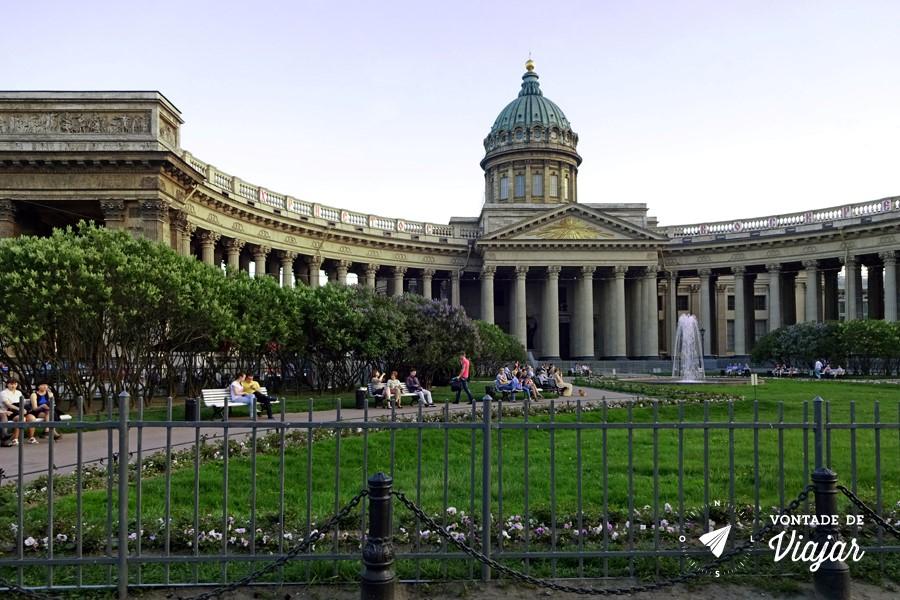 Sao Petersburgo - Catedral de Kazan na Nevski Prospekt - dicas de viagem no blog Vontade de Viajar