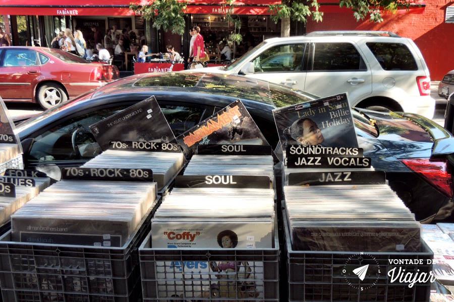 Williamsburg - Discos de vinil na Bedford Avenue
