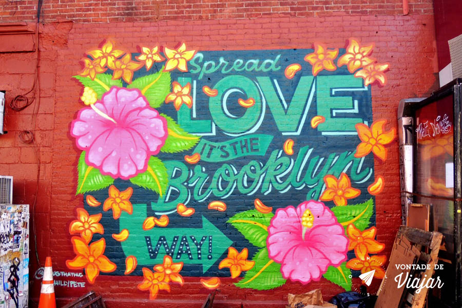Williamsburg - Grafitti Spread Love its the Brooklyn Way
