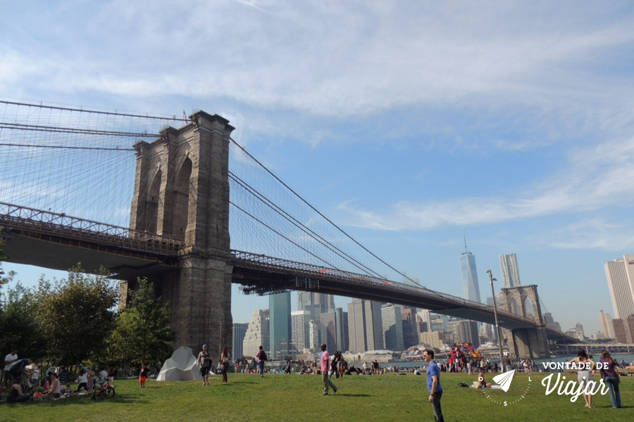 Brooklyn Bridge Park - O novo parque queridinho de Nova York