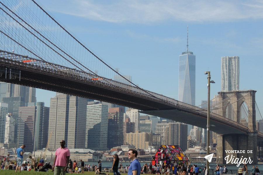Brooklyn Bridge Park - Um point do verao nova iorquino