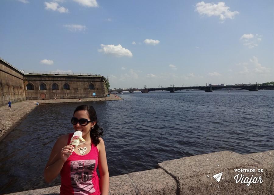 Dicas para viajar pela Russia - Calor ceu azul e picole na primavera russa