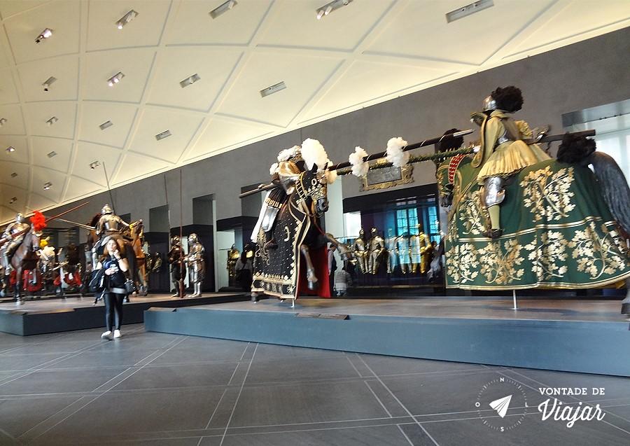 Dresden - Armaduras e espadas no Dresdener Schloss