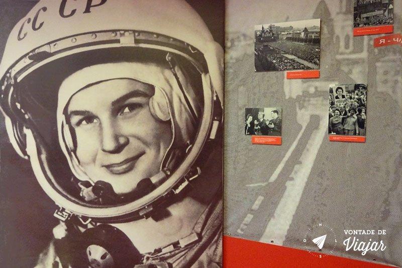 Museu da Cosmonautica - Yuri Gagarin primeiro homem no espaco