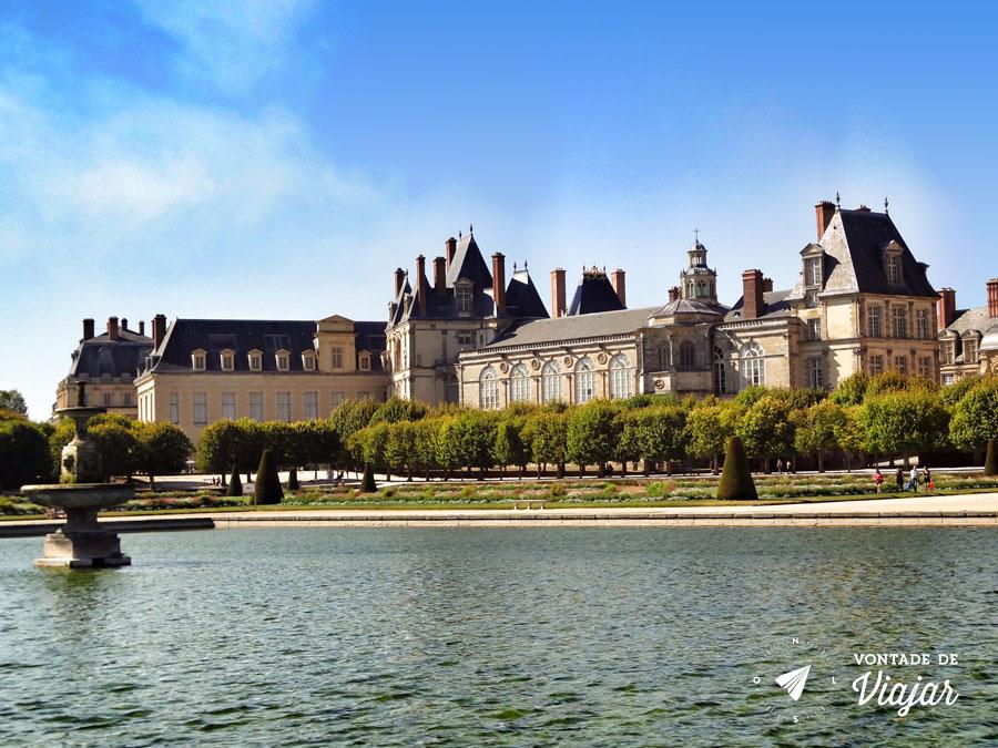 Palacios nos arredores de Paris - Chateau Fontainebleau