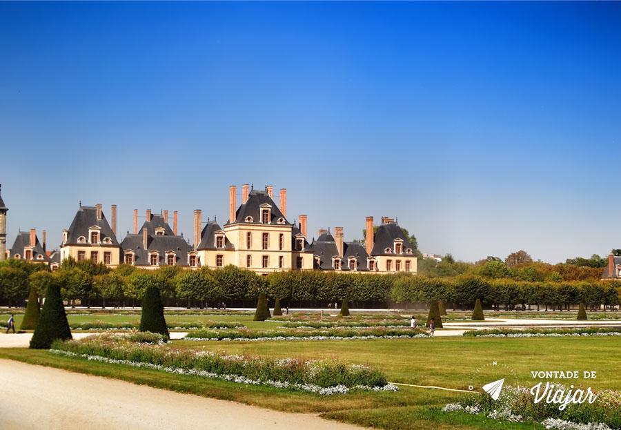Palacios nos arredores de Paris - Fontainebleau