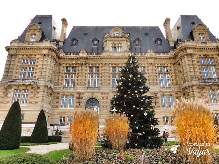 Palacios nos arredores de Paris - Hotel de Ville em Versailles