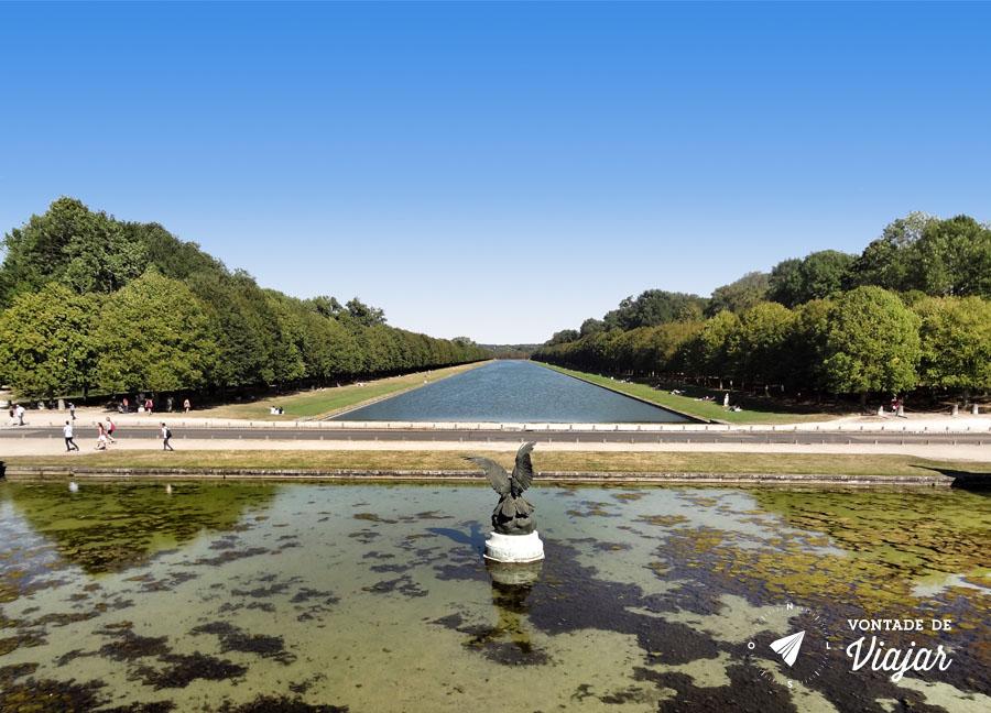 Palacios nos arredores de Paris - Jardim de Fontainebleau