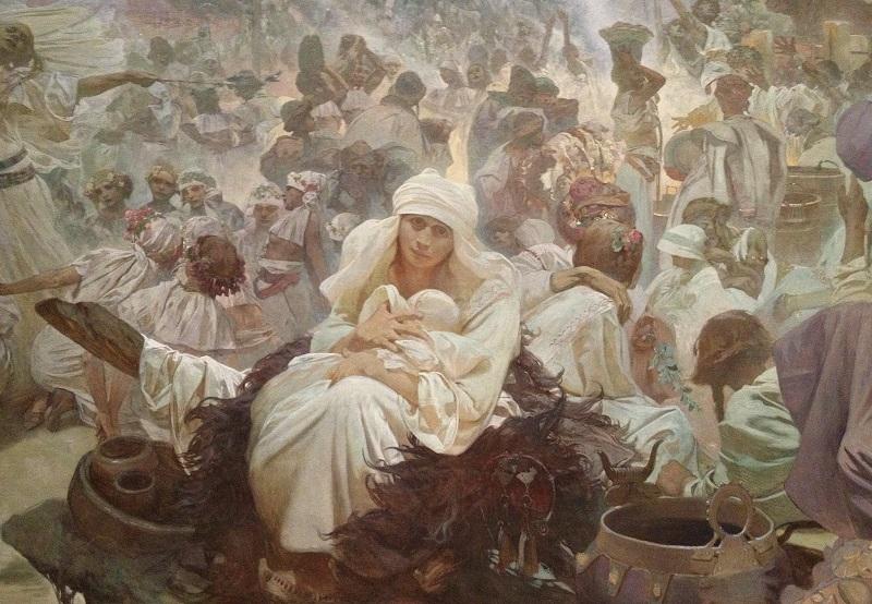 Alfons Mucha - Epopeia Eslava