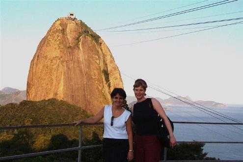 Amizade de intercambio - Gabi e Suzi no Rio