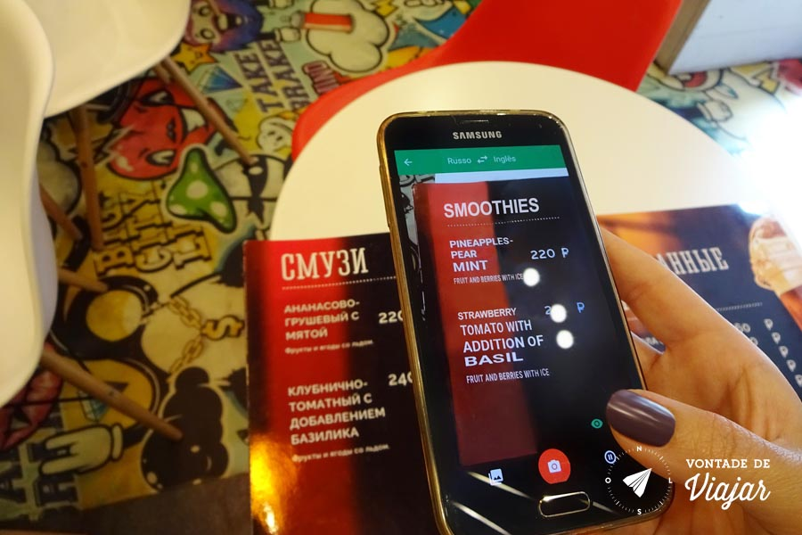 Dicas para viajar pela Russia - Google Traducao