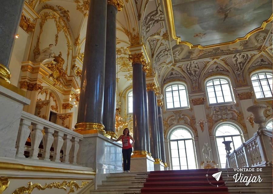 Dicas de viagem da Rússia: museu Hermitage em São Petersburgo