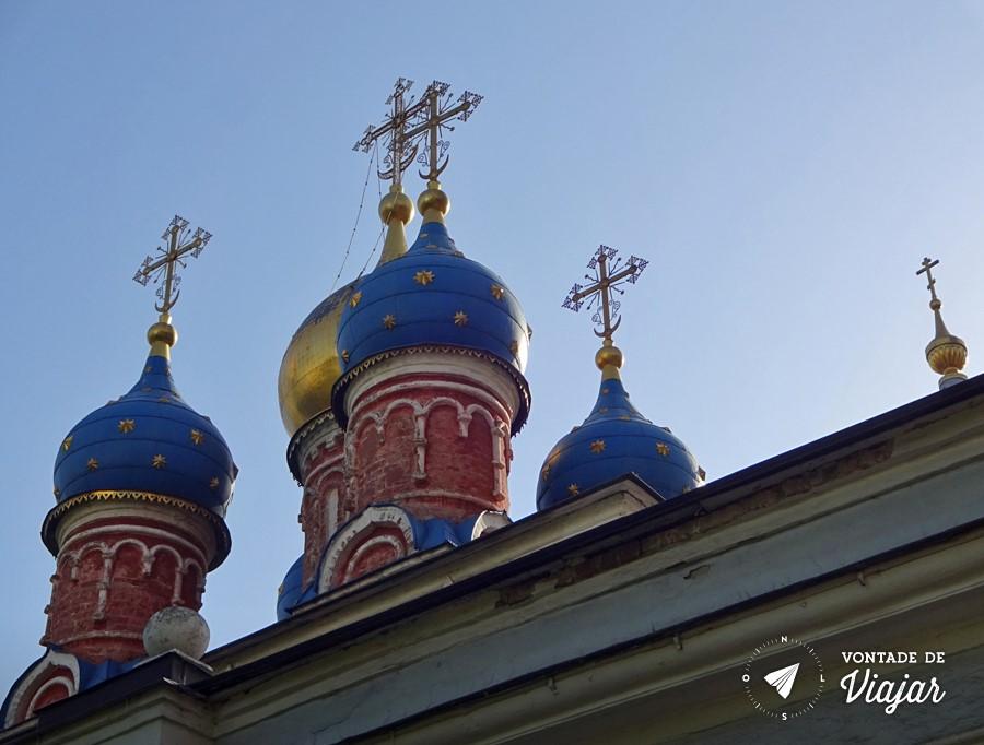 Dicas para viajar pela Rússia - arquitetura típica das igrejas russas