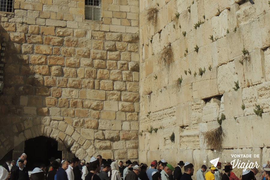 Israel - Muro das Lamentacoes em Jerusalem
