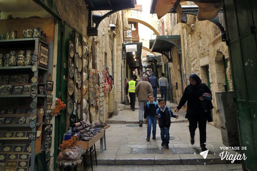 Israel - Um dia em Jerusalem