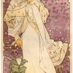 Museu Mucha Praga - Cartazes de Teatro La Dame aux Camelias