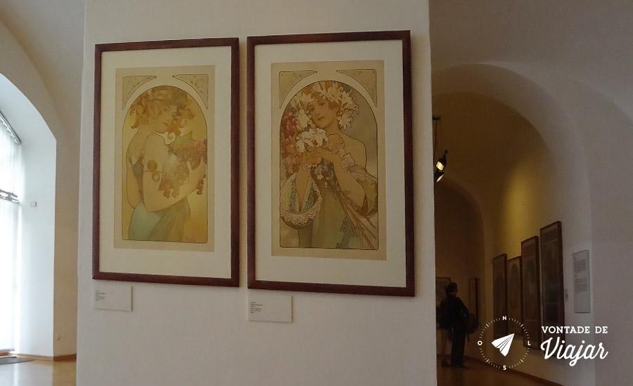 Museu Mucha em Praga - Art Nouveau que conquistou Paris