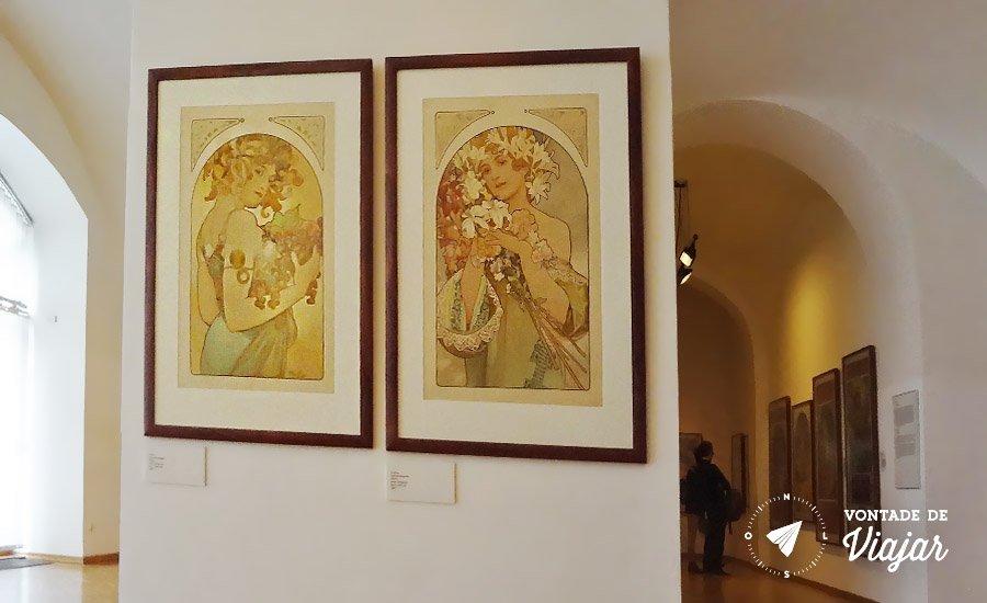 O que fazer em Praga - Museu Alfons Mucha