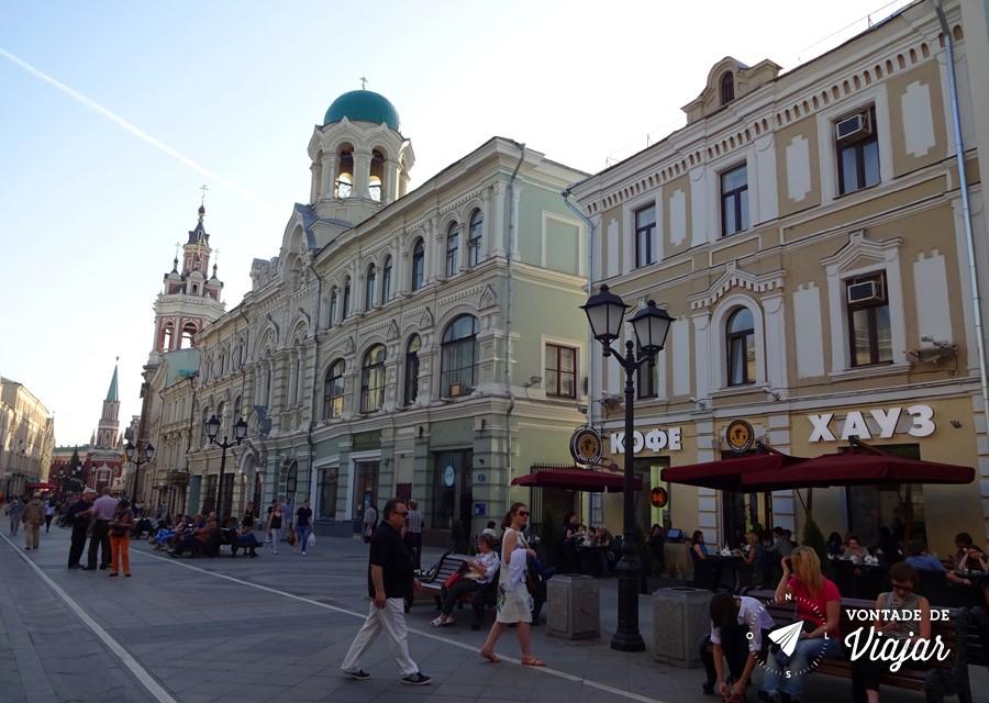 Dicas da Rússia - restaurante Coffee House em Moscou