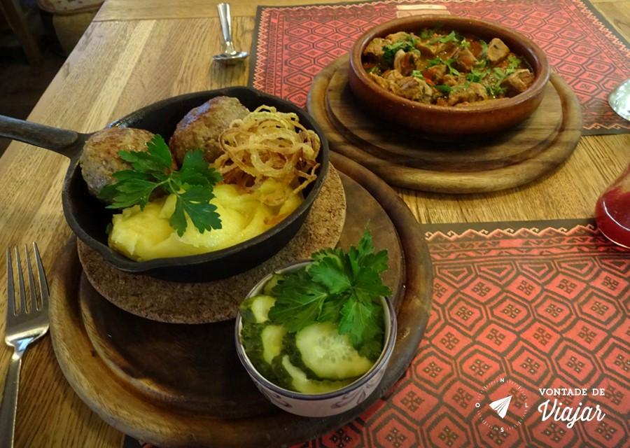 Dicas da Rússia - restaurante em São Petersburgo de comida georgiana