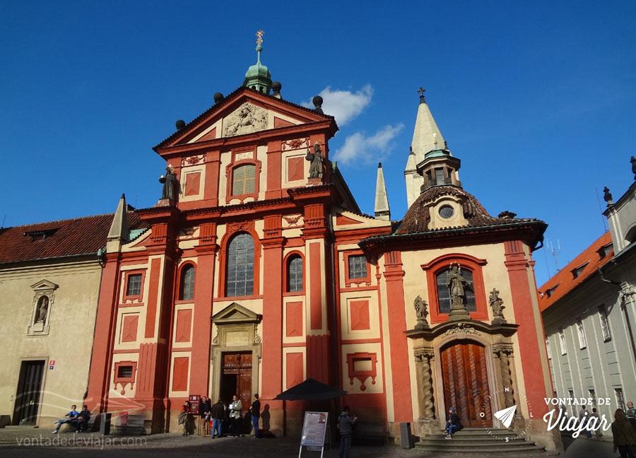 Basílica de São Jorge no Castelo de Praga