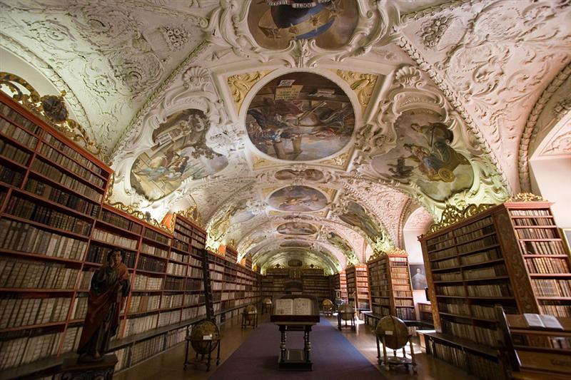 Biblioteca do Monastério Strahov, em Praga - Foto: Y Shishido