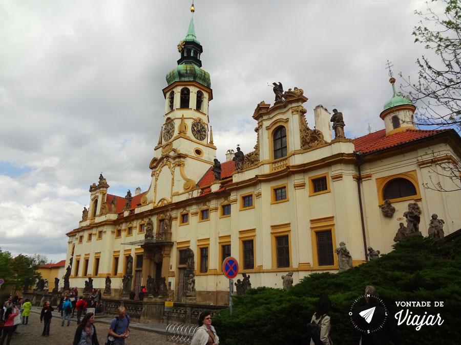 Igreja Nossa Senhora do Loreto, no Castelo de Praga