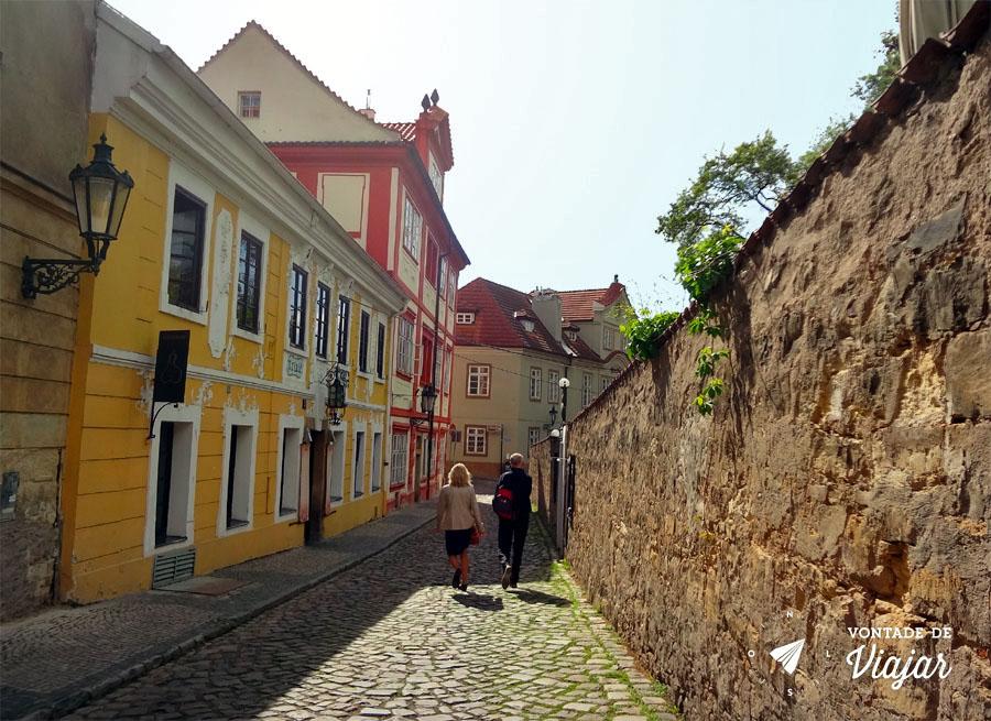 O que fazer em Praga - ruas medievais