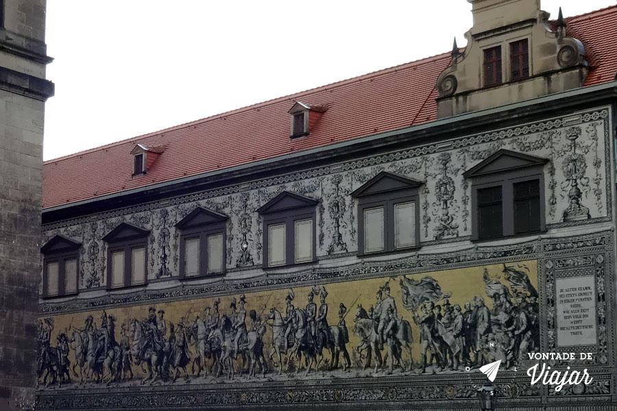 O que fazer em Dresden - Procissao dos Principes