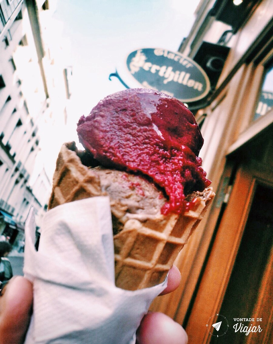 Sorveterias em Paris - Berthllion