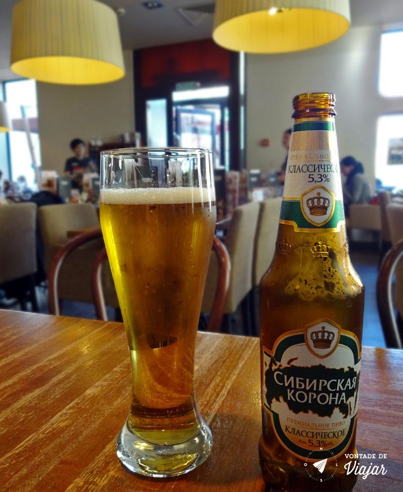 Dicas da Russia - Cerveja russa Sibirskaya Korona