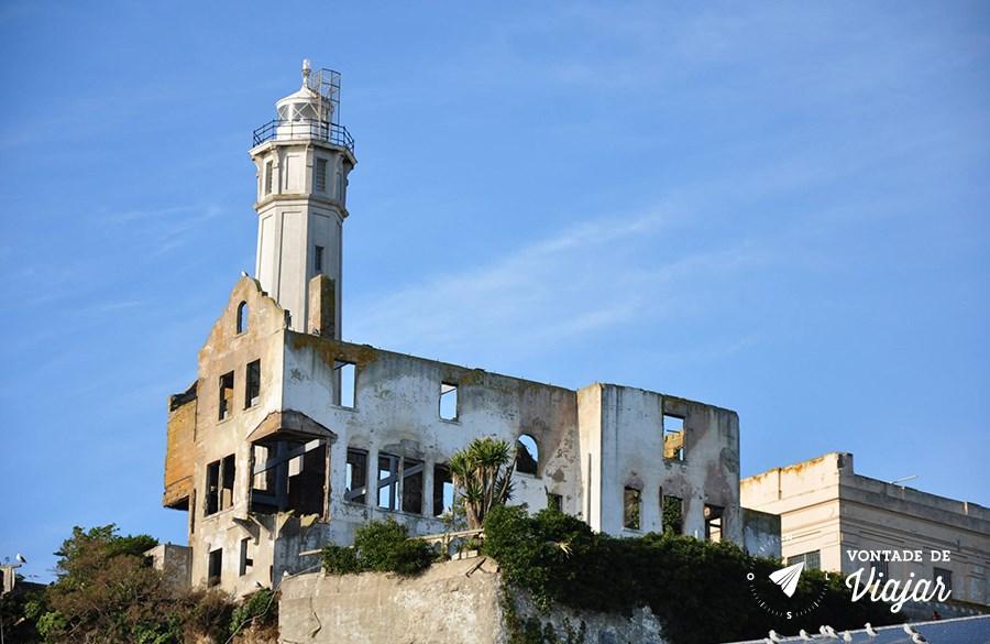 Alcatraz - Ruinas do presidio desativado - foto Ulysses Vilela