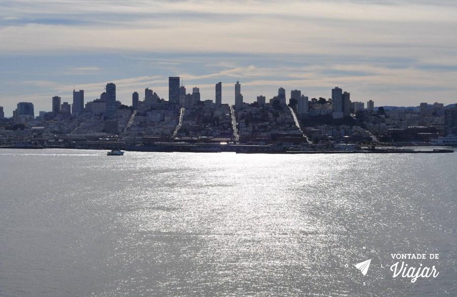 Alcatraz - Vista de San Francisco - foto Ulysses Vilela