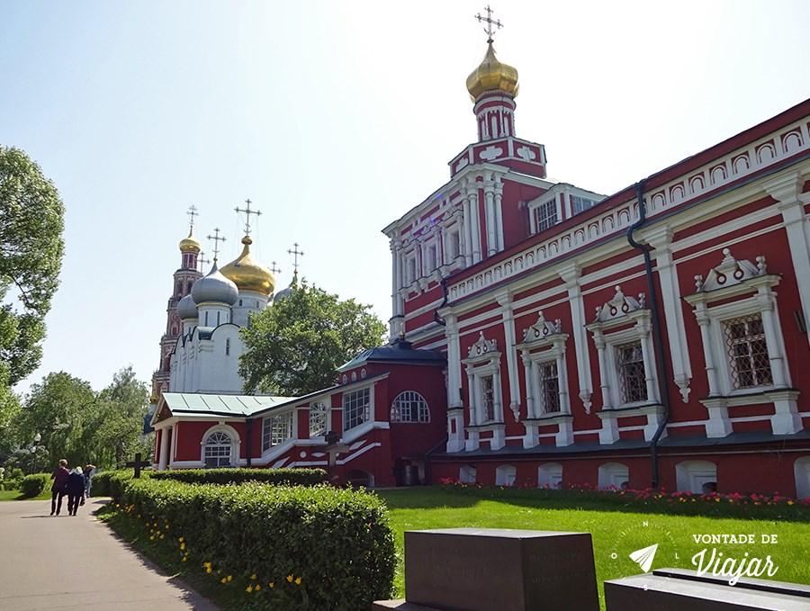 Convento de Novodevichy em Moscou - Igreja da Assuncao
