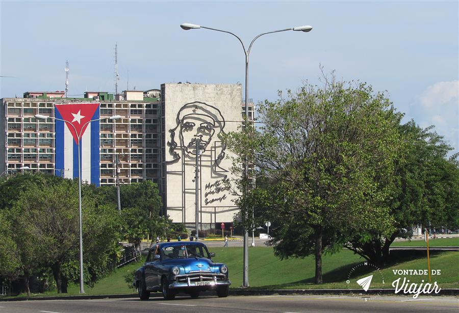 Havana Cuba - tres simbolos cubanos - foto do blog Vontade de Viajar