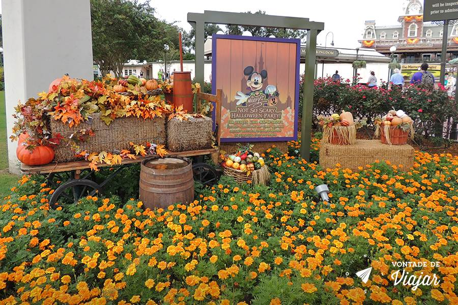 Halloween em Orlando - Magic Kingdom